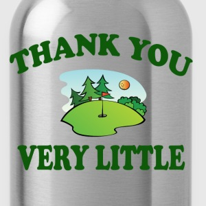 Caddyshack - Thank You Very Little T-Shirts - Water Bottle