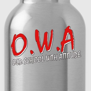 Old School With Attitude   DBS - Water Bottle