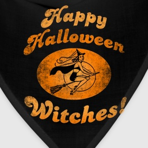 Happy Halloween Witches T-Shirts - Bandana