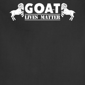Goat Lives Matter Shirt - Adjustable Apron