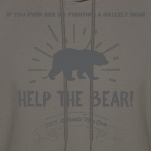 Help The Bear II T-Shirts - Men's Hoodie