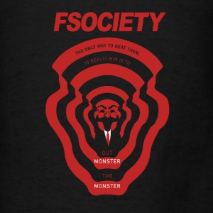 MrRobot Fsociety season2 Hoodies - Men's T-Shirt