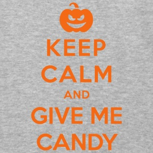 Keep Calm Give Me Candy - Funny Halloween Hoodies - Baseball T-Shirt