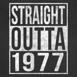 Straight Outta 1977 40th Birthday T-Shirts - Adjustable Apron