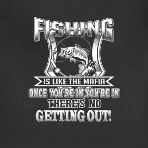Fishing - Once you're in there's no getting out - Adjustable Apron