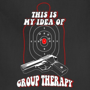 Shooter - This is my idea of Group therapy - Adjustable Apron