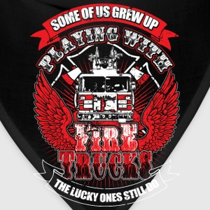Fire truck - We grew up praying with fire truck - Bandana