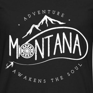 Mountain bike - Adventure montana awakens the soul - Men's Premium Long Sleeve T-Shirt