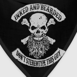 Bearded man - Don't stereotype this guy Gentleman - Bandana