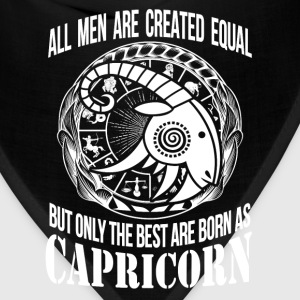 Capricorn - Only the best men are born as capricon - Bandana