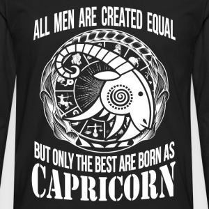 Capricorn - Only the best men are born as capricon - Men's Premium Long Sleeve T-Shirt