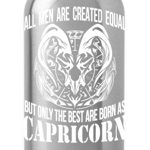 Capricorn - The best men are born as capricorn - Water Bottle