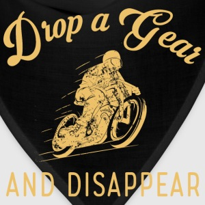 Motorcycle - Drop a gear and disapper t-shirt - Bandana