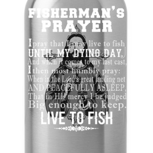 Fisherman - Fisherman's prayer t-shirt for fisher - Water Bottle