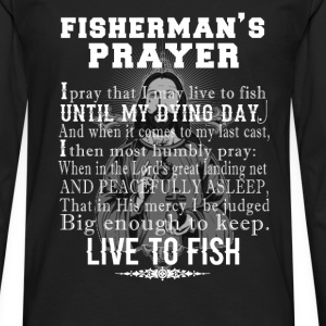 Fisherman - Fisherman's prayer t-shirt for fisher - Men's Premium Long Sleeve T-Shirt