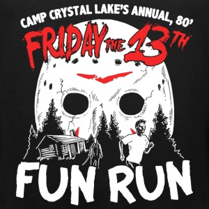 Fun Run at Camp Crystal Lake - halloween - Men's Premium Tank