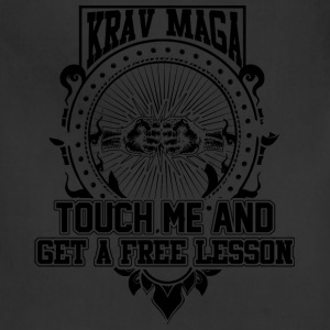 Krav maga - Touch me and get a free lesson tee - Adjustable Apron