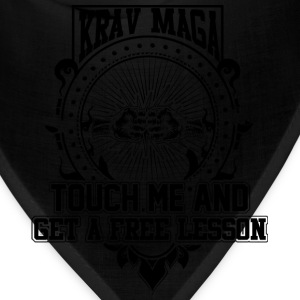 Krav maga - Touch me and get a free lesson tee - Bandana