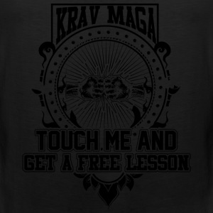 Krav maga - Touch me and get a free lesson tee - Men's Premium Tank