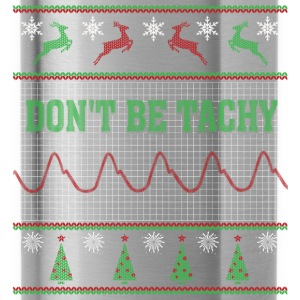 Nurse - Don't be tachy awesome christmas sweater - Water Bottle