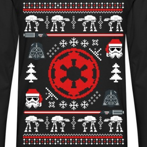 Christmas sweater for Galactic - Star Wars fan - Men's Premium Long Sleeve T-Shirt