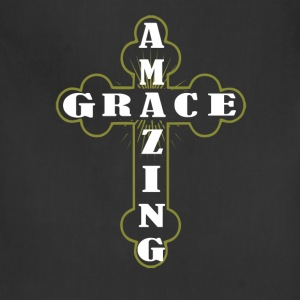 Amazing grace - Cross T - shirt - Adjustable Apron