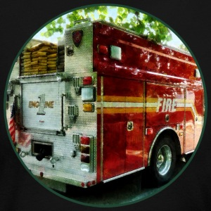 Back Of Fire Truck Long Sleeve Shirts - Women's Long Sleeve Jersey T-Shirt
