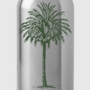 date palm - Water Bottle