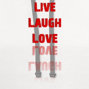 Live Laugh Love T-Shirt (Women's) - Contrast Hoodie