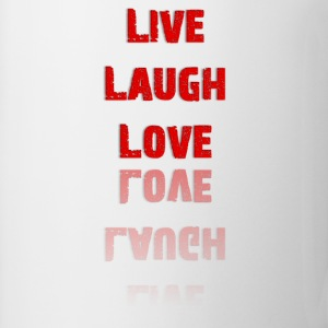 Live Laugh Love T-Shirt (Women's) - Coffee/Tea Mug