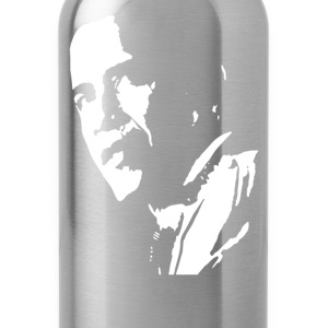 stencil barak obama - Water Bottle
