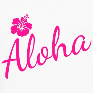 Aloha Script Baby & Toddler Shirts - Men's Premium Long Sleeve T-Shirt