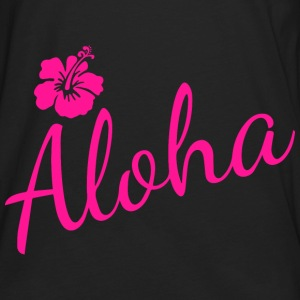 Aloha Script Bags & backpacks - Men's Premium Long Sleeve T-Shirt