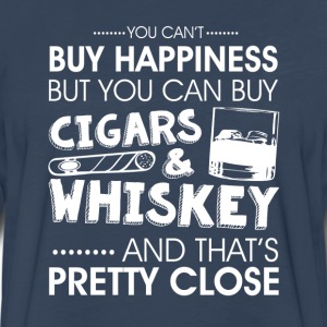 You can't buy happiness T-Shirts - Men's Premium Long Sleeve T-Shirt