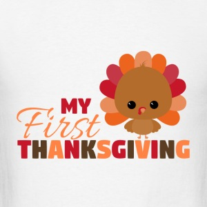 My First Thanksgiving Baby Bodysuits - Men's T-Shirt