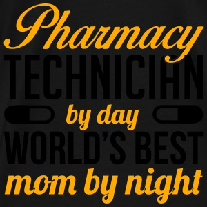 PHARMACY TECH. BY DAY WORLD'S BEST MOM BY NIGHT Bags & backpacks - Men's Premium T-Shirt