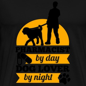 PHARMACIST BY DAY DOG LOVER BY NIGHT Sportswear - Men's Premium T-Shirt