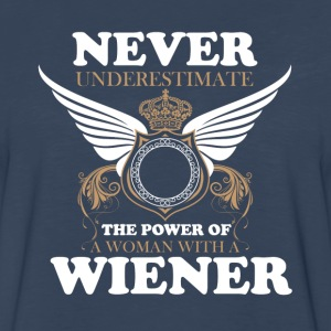 Never underestimate T-Shirts - Men's Premium Long Sleeve T-Shirt