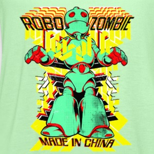Zombie Robot - Women's Flowy Tank Top by Bella