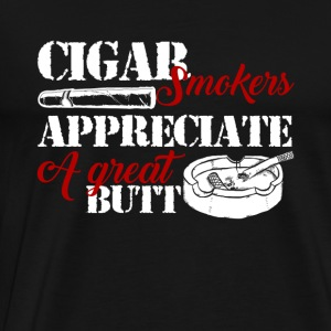 Cigar Smokers Shirt - Men's Premium T-Shirt