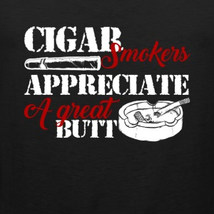 Cigar Smokers Shirt - Men's Premium Tank