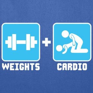 Weights and Cardio T-Shirts - Tote Bag