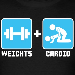 Weights and Cardio Sportswear - Men's T-Shirt