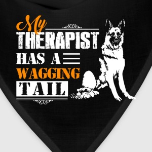 German Shepherd Wagging Tail - Bandana