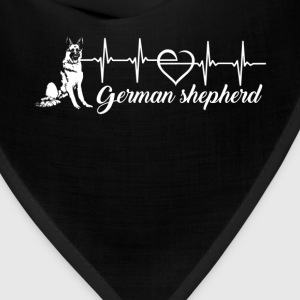 German Shepherd Heartbeat - Bandana