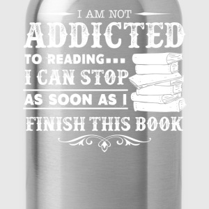 Book Ladies T-Shirt - Water Bottle