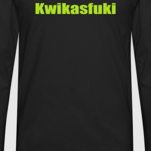 Kwikasfuki Biker - Men's Premium Long Sleeve T-Shirt