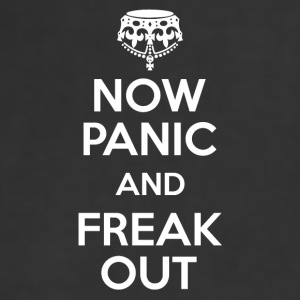 Full Color Coffee Mug Now Panic and Freak Out - Adjustable Apron