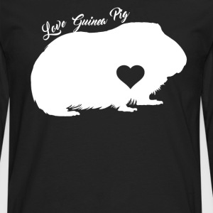Guinea Pig Shirt - Men's Premium Long Sleeve T-Shirt