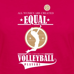 Volleyball players T-Shirts - Women's Premium Long Sleeve T-Shirt